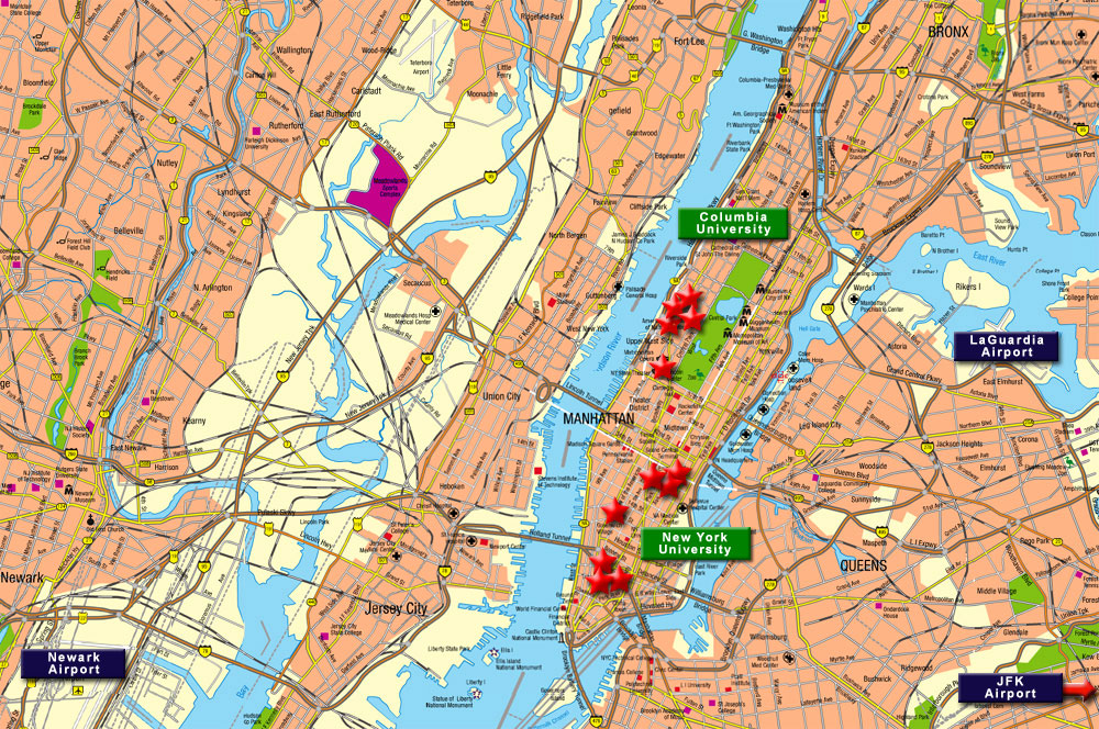 New York New Jersey Area Participating Hotels