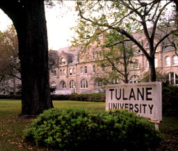 tulane university accommodations map - tulane hotel map