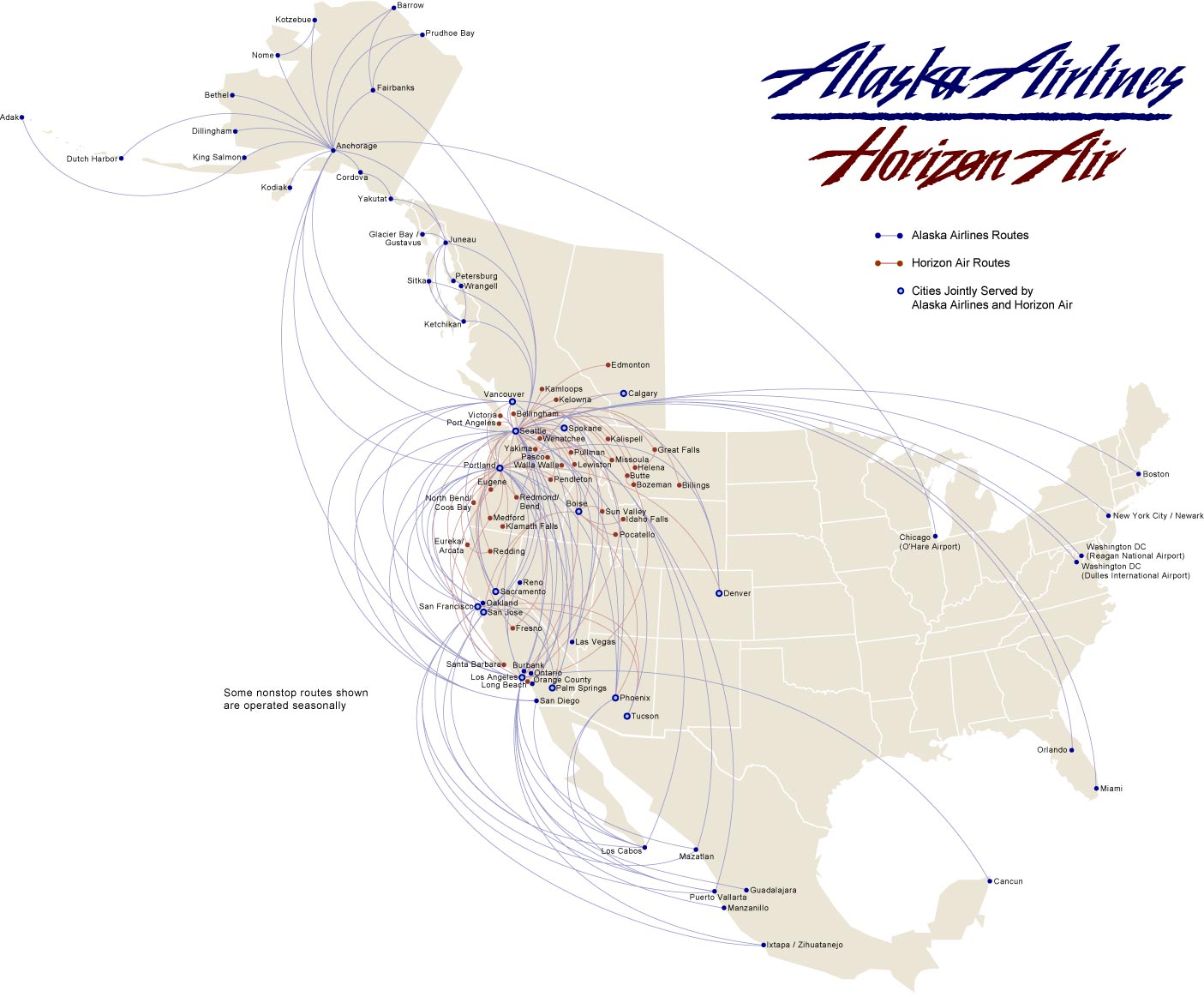 Southwest Airlines Click The Image For A Pdf Version Route Map Larger View Here Note Viewing Document Linked Above Requires Adobe Acrobat Reader